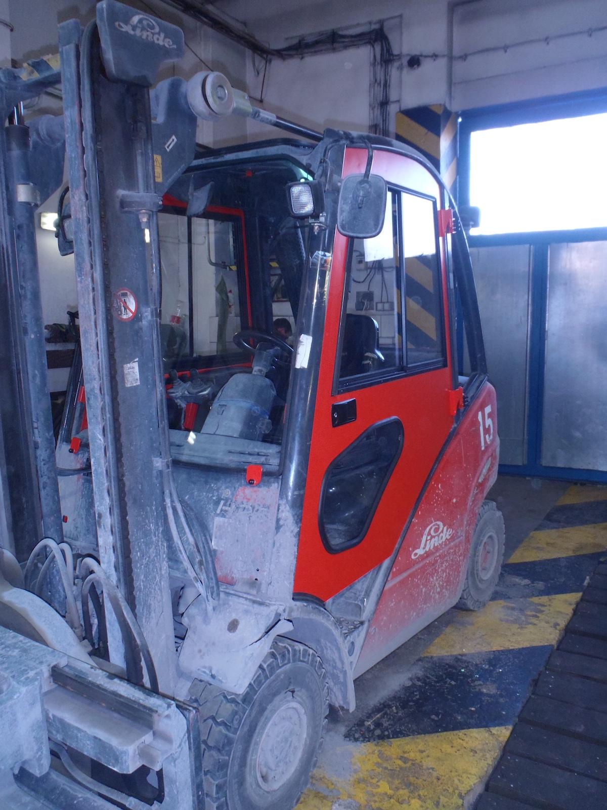 Linde DFK cab kit