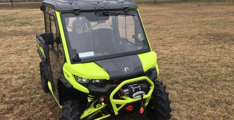 CAN AM TRAXTER 2020 DFK cab