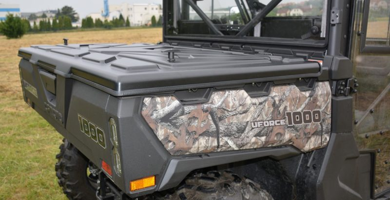 CF-MOTO Uforce 1000 cargo bed cover