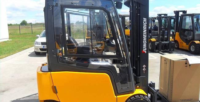 DFK Cab kit for Jungheinrich forklifts