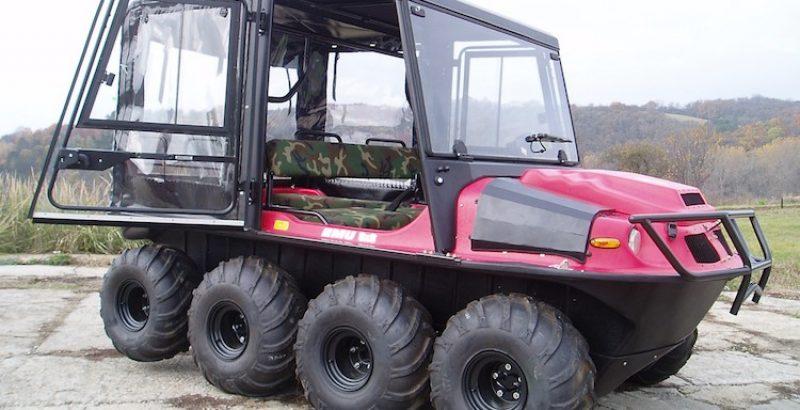 Hisun 8x8 - DFK Cab kit