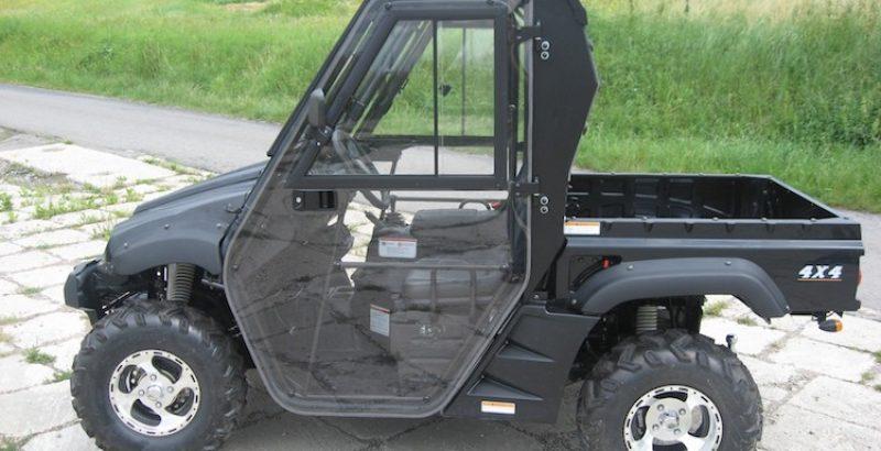 Hisun Tractor 500 - DFK Cab kit (1)