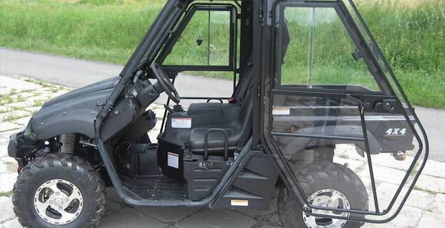 Hisun Tractor 500 - DFK Cab kit (4)