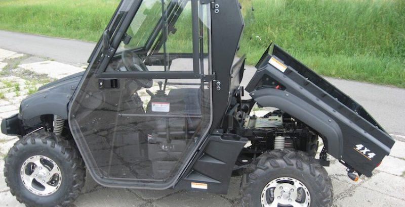 Hisun Tractor 500 - DFK Cab kit (5)