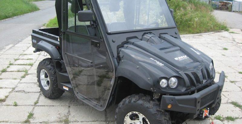 Hisun Tractor 500 - DFK Cab kit (6)