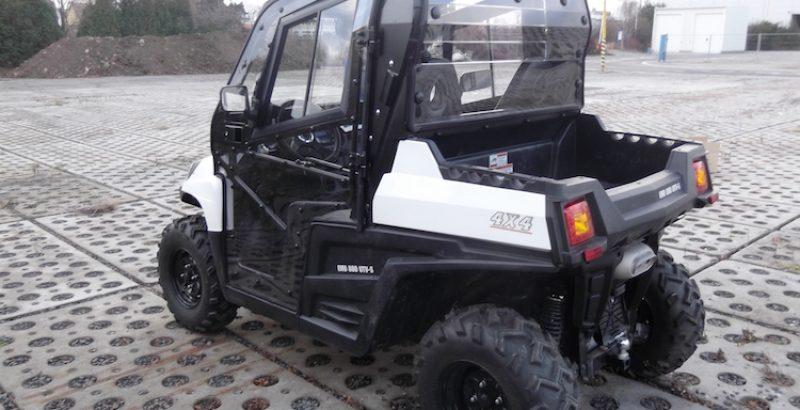 Hisun Tractor 800 - DFK Cab kit (2)