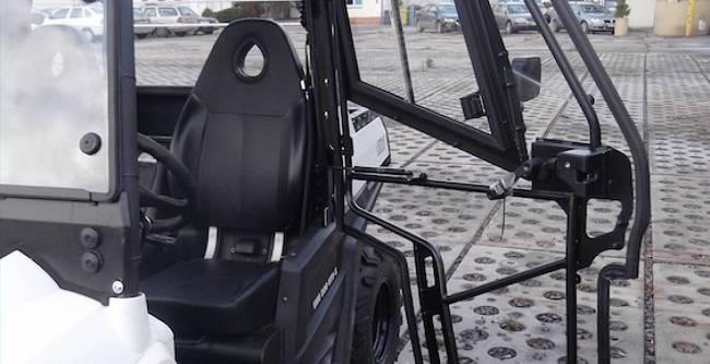 Hisun Tractor 800 - DFK Cab kit (3)