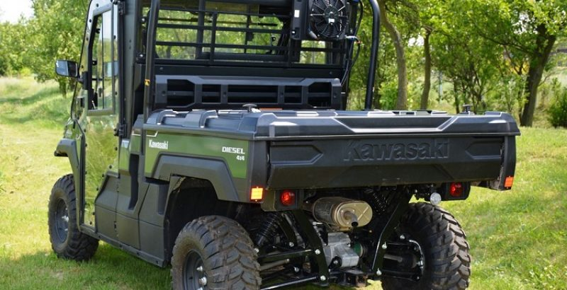 KAWASAKI Mule PRO FX:DX, Cargo Bed Cover - DFK Accessories