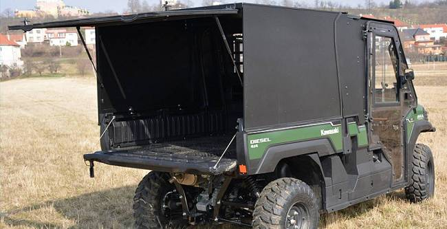 Kawasaki Mule PRO FX-DX, Cargo Box - DFK Accessories