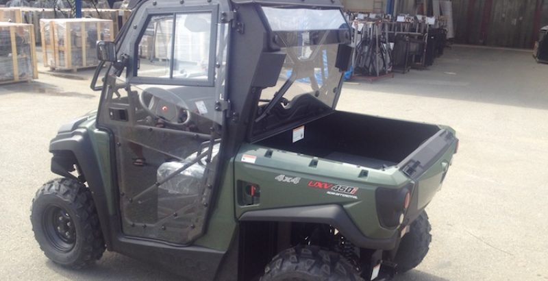 Kymco 450i - DFK Cab kit (4)