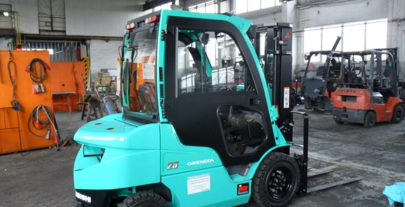 DFK Cab kit for Mitsubishi forklifts