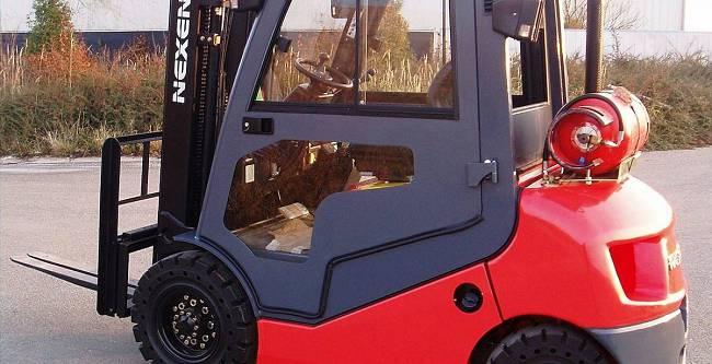 DFK Cab kit for Next forklifts