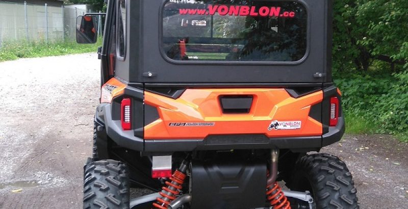 Polaris General 1000 Cargo Box - DFK Accessories