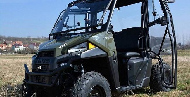 Polaris Ranger 570 Midsize - DFK Cab kit (4)