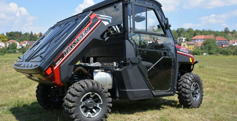 Polaris Ranger XP 1000 CARGO BED DFK cab