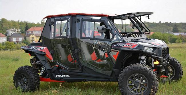 Polaris Razer 1000 Crew - DFK Cab kit (3)