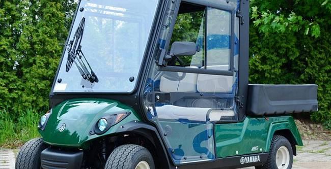 Yamaha YTF 2 Golf cart - DFK Cab kit